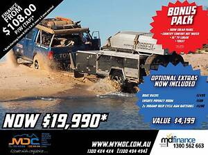 2017 MDC CRUIZER SLIDE HARDFLOOR CAMPER TRAILER Manunda Cairns City Preview