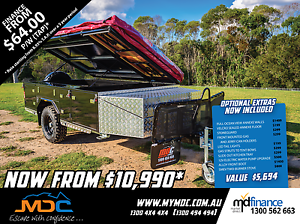 2017 MDC STEPTHROUGH SOFTFLOOR CAMPER TRAILER Salisbury Brisbane South West Preview