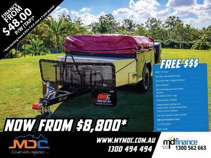 Market Direct Campers 2017 Offroad T-Box Camper Trailer