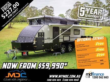 2017 MDC XT-17T Hybrid Pop Top Caravan