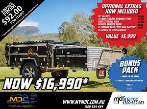 2017 MDC JACKSON FORWARD FOLD HARDFLOOR CAMPER TRAILER Eungai Creek Nambucca Area Preview