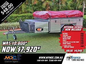 Market Direct Campers 2017 Offroad T-Box Camper Trailer Salisbury Brisbane South West Preview