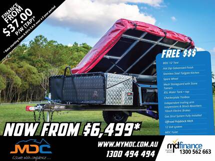 2017 MDC OFFROAD DELUXE CAMPER TRAILER