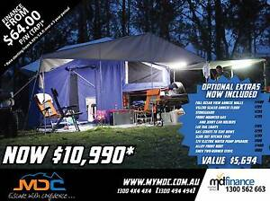 2017 MDC STEPTHROUGH SOFTFLOOR CAMPER TRAILER Condell Park Bankstown Area Preview