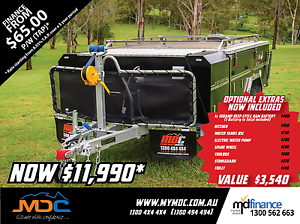 2017 MDC EXPLORER HARDFLOOR CAMPER TRAILER Condell Park Bankstown Area Preview