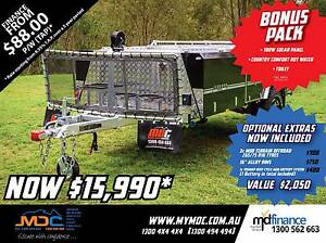 2017 MDC JACKSON REARFOLD HARDFLOOR CAMPER TRAILER Manunda Cairns City Preview