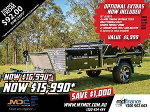 2017 MDC JACKSON FORWARD FOLD HARDFLOOR CAMPER TRAILER Manunda Cairns City Preview