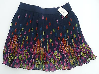 Womens Aeropostale Bright Floral Pleated Woven Skirt 2341