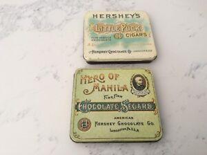 Hershey Chocolate Tins (2)