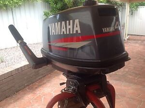 YAMAHA 4HP OUTBOARD AS NEW. 4ACMH Prospect Blacktown Area Preview