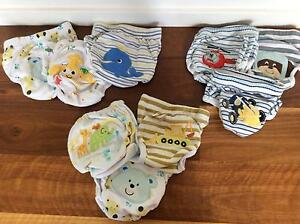 Toilet training pants, reusable. Bundle of 9 Mount Gravatt Brisbane South East Preview
