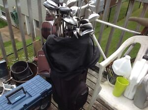 Set of irons and woods -