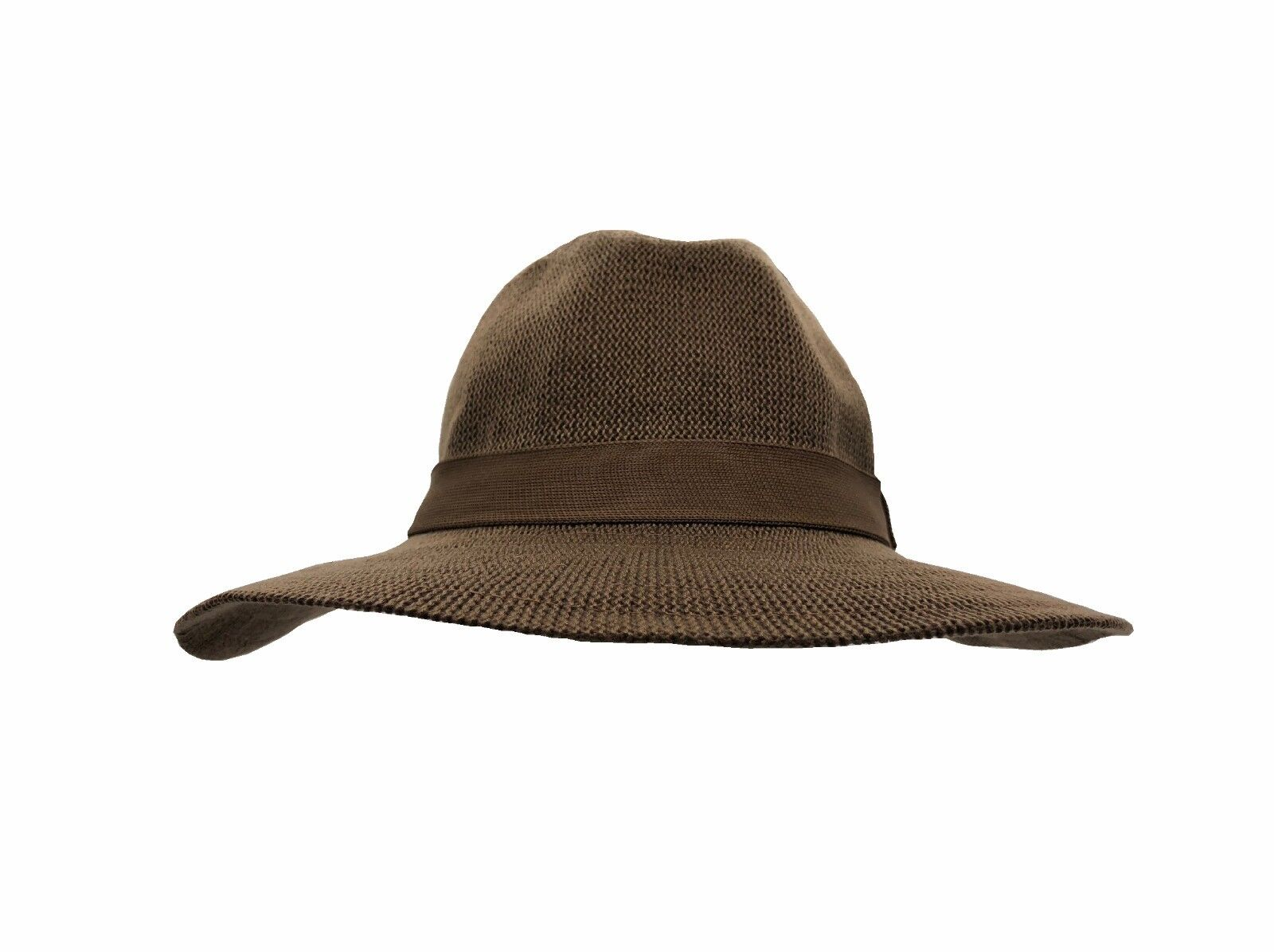 Jacaru Mens Sun Hat Wide Brim Crushable Cream Band Sun Holiday Beach ... e7b9382232dd