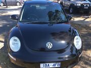 4/2006 VW BEETLE MIAMI BLACK Ferntree Gully Knox Area Preview