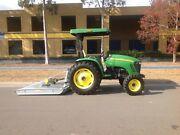 John Deere 4720 Tractor and slasher Penrith Penrith Area Preview