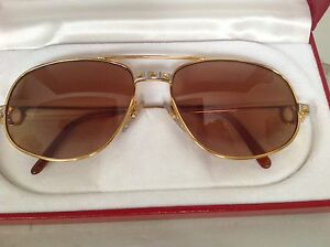Cartier aviator Santos sunglasses