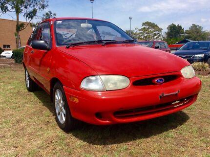 1999 Ford Festiva WF Demon 4 Cyl Auto 3 months rego