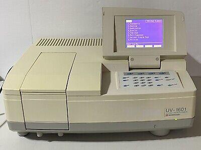 Shimadzu Uv-1601 Uv-visible Spectrophotometer
