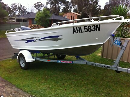Brooker 420D Pro - 30hp Yamaha - Custom canvas cover - All as new Engadine Sutherland Area Preview