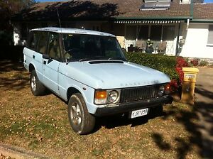 1983 Range Rover Other Wagon Watson North Canberra Preview