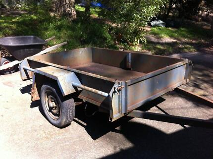 Trailer 6x4 with or without bike rack