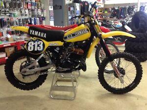 1980 Yamaha YZ250 vintage racer