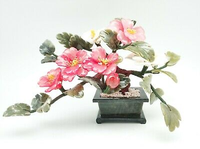3 Colors Stone Flower Tree For Home And Decor ()