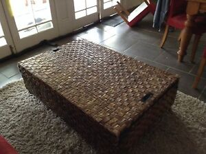 Freedom Furniture Banana Leaf Coffee Table/blanket box Large Geelong Geelong City Preview