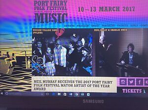41st Port Fairy Folk Festival x 2 tickets Narrabeen Manly Area Preview