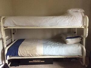 White bunk beds Bangor Sutherland Area Preview