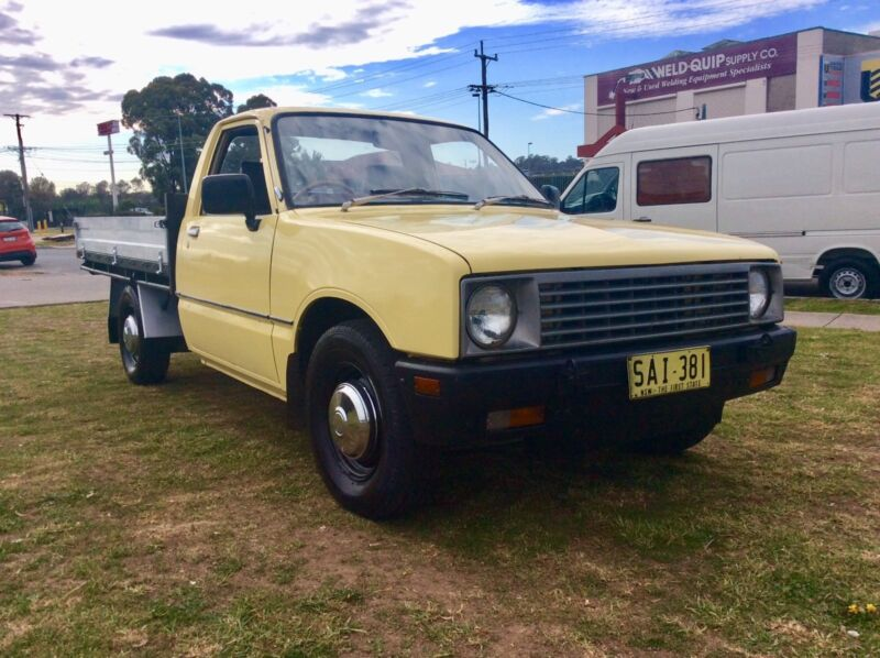 1981 holden rodeo kb table top diesel manual excellent condition 1 of 20 fandeluxe Gallery