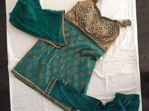 Gorgeous Emerald Green pjami Suit