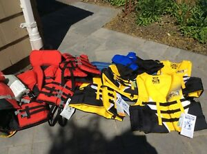 Life Jackets  (10 in total)