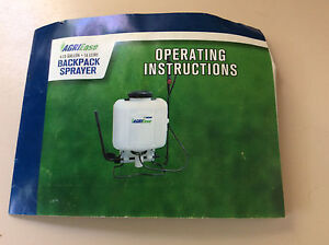 AgriEase 4.23gal/16L Backpack Sprayer