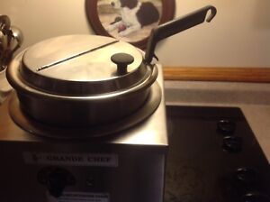 Commercial soup warmer