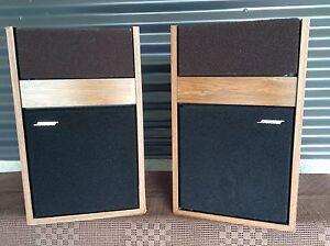 Bose 301 Vintage Speakers