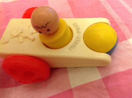 Vintage 1975 Fisher Price Click N Clatter # 417 made in USA