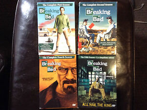 Breaking Bad Seasons 1,2,4&5 DVD