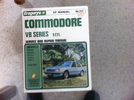 Commodore workshop manual Padbury Joondalup Area Preview