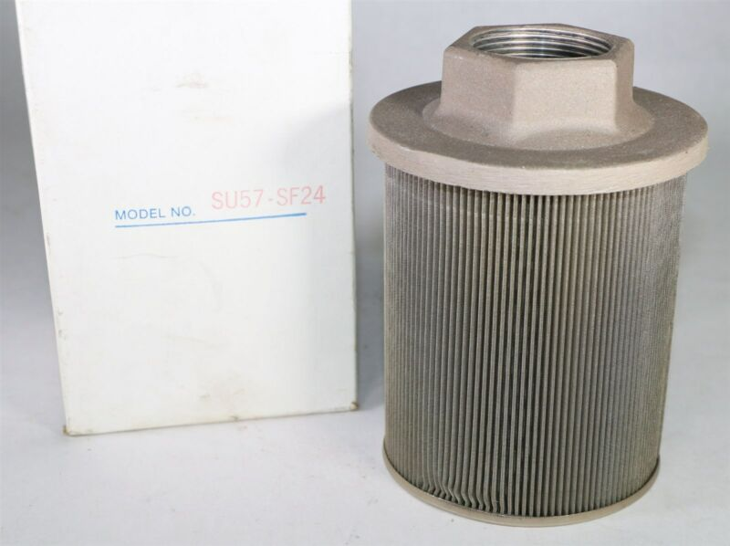 New in Box Servtek Marion SU57-SF24 Suction Strainer Hydraulic Filter   J6