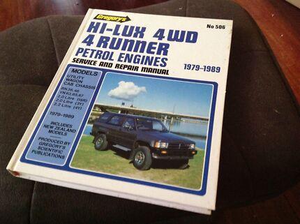 Hi-Lux Repair Manual '79-'89 Gregory's