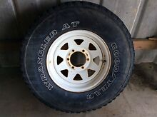Sunraysia Rim with Goodyear tyre Alexandra Hills Redland Area Preview