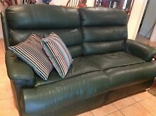 2 X 2 seater leather recliner lounges Tewantin Noosa Area Preview