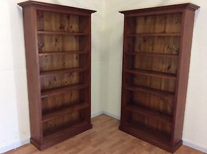 Solid wooden book case SYDNEY DELIVERY & ASSEMBLY Windsor Hawkesbury Area Preview