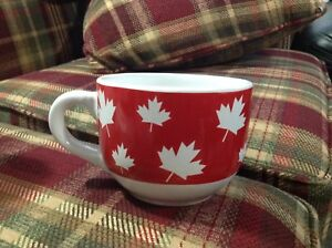 Canadian theme soup bowl or coffee mug