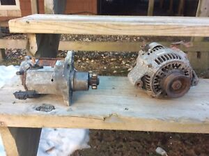Auto parts starter and alternator for sale