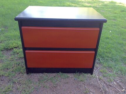 Retro Bedside Table