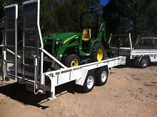 Tractor John Deere  loader ( 4 in 1) 447 back hoe & pallet fork Gisborne Macedon Ranges Preview