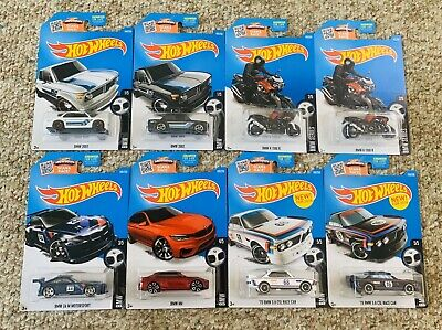 NEW HOT WHEELS 2015 BMW 3+ LOT OF 8