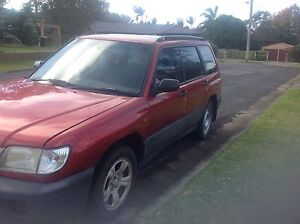 2002 Subaru Forester Wagon Wauchope Port Macquarie City Preview